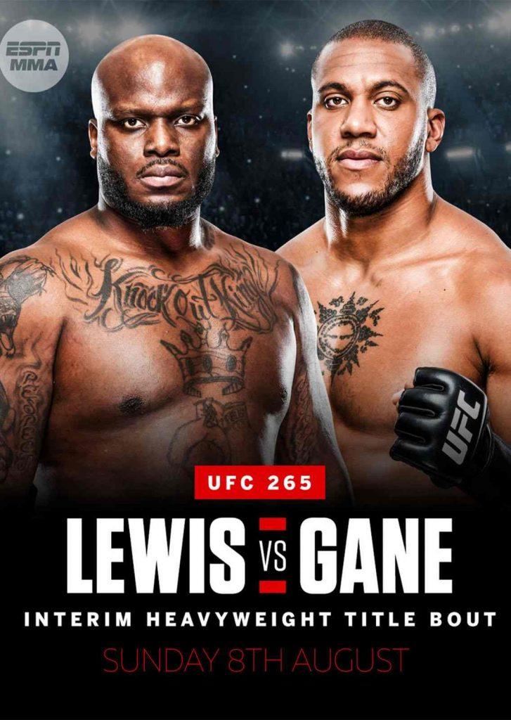 UFC 265 Phangan